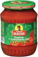 Томаты ДЯДЯ ВАНЯ в томатном соке, 680г