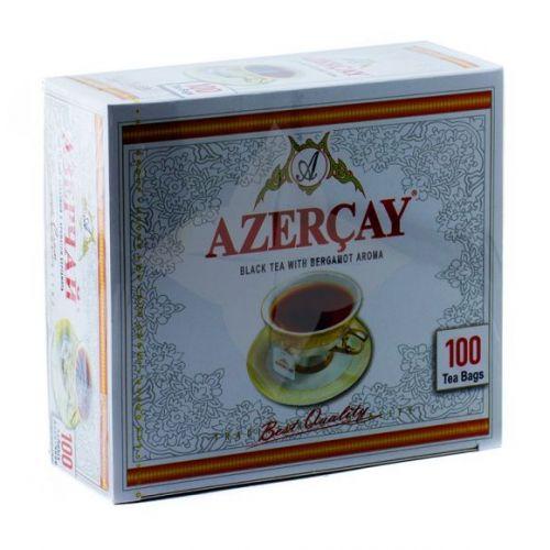 Çay AzərÇay Qara paket 100 ədəd