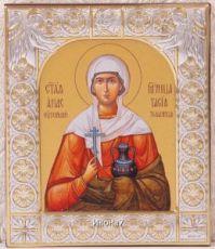 Икона Анастасия Узорешительница (9х10,5см)