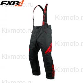 Полукомбинезон FXR Сlutch FX - Black/Red мод. 2019