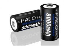 Аккумулятор типоразмер D PALO 8000 мАч