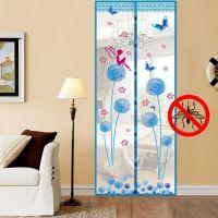 Дверная Москитная сетка на магнитах-птичках, 100х210 см