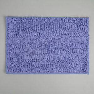 Коврик «Букли», 40?60 см, цвет сиреневый