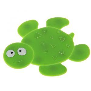 Мини-коврик для ванны «Черепашка», 11?13,5 см, цвет зелёный