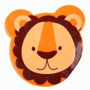 УЦЕНКА Мини-коврик для ванны на присосках «Львёнок»