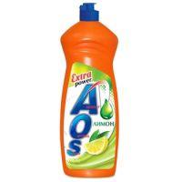 Средство для мытья посуды AOS Лимон Extra Power 900мл