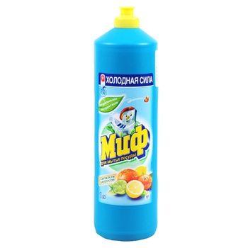 Средство для мытья посуды Миф Свежесть цитрусов 1л