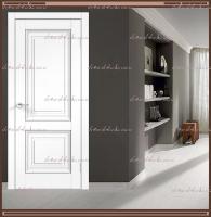 Межкомнатная дверь ALTO 7 Глухое SoftTouch структурный Ясень белый :