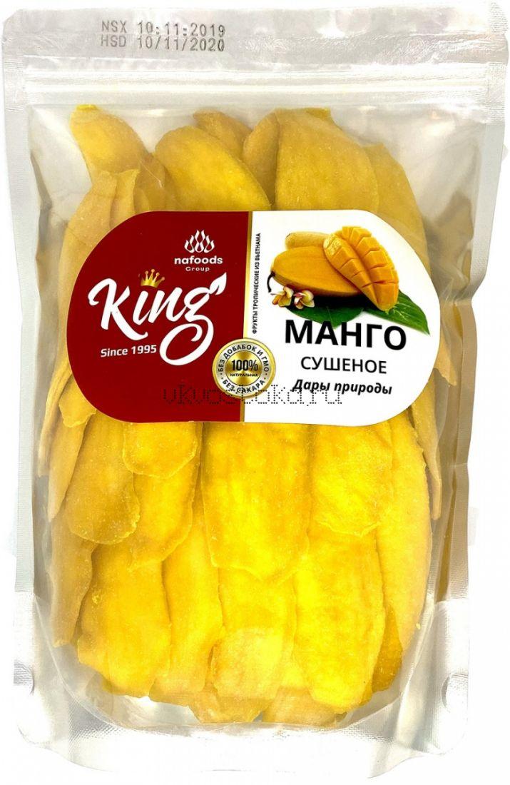 Манго натуральный без сахара king