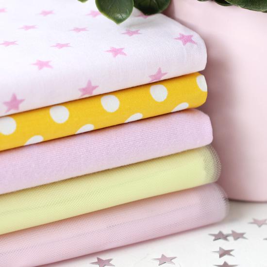 Набор тканей для творчества Розовые мечты
