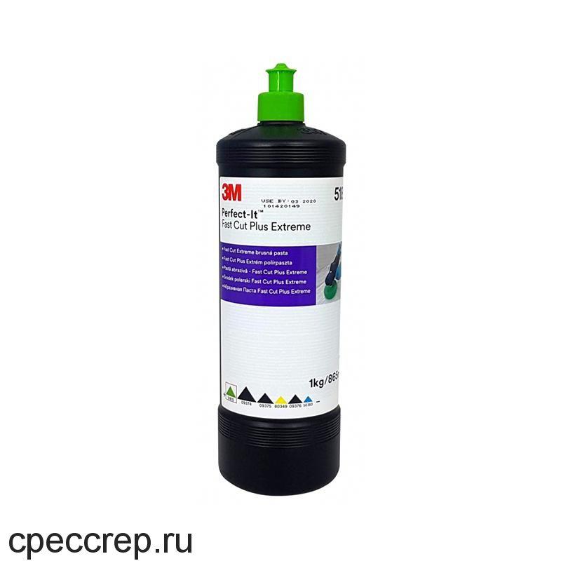 3М Паста Perfect-it™ Fast Cut XL абразивная полировальная (зеленый колпачок)