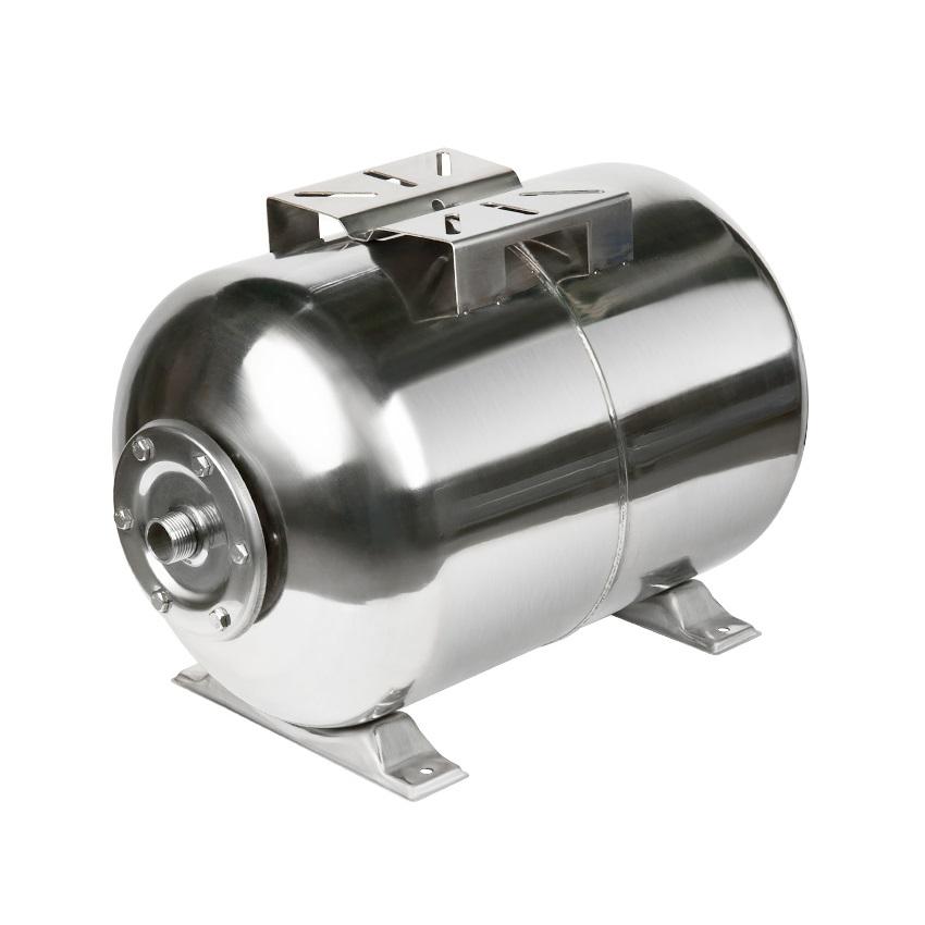 Гидроаккумулятор Unipump 80 л (горизонтальный), нержавеющая сталь