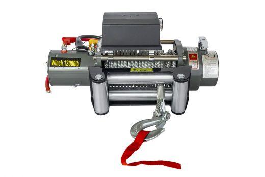 Лебёдка электрическая 12V Electric Winch SNC12 OX 12000 lbs 5443 кг