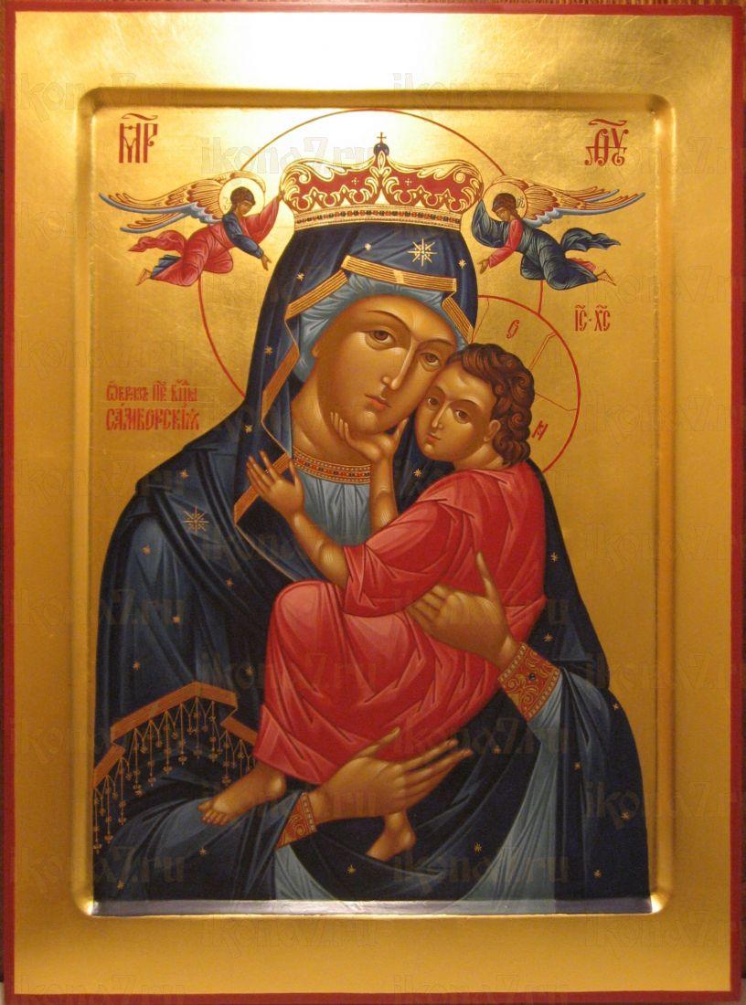 Икона Пресвятой Богородицы Самборская