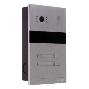 Вызывная панель видеодомофона SLINEX MA-02, двухабонентская, 138 градусов, 960 ТВЛ, ИК, NFC  4552654