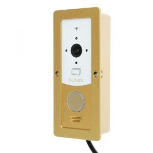 Вызывная панель видеодомофона SLINEX ML-20CR, наружная, 100 град, 960 ТВЛ, ИК, бело-золотая  4552643