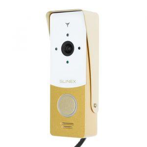 Вызывная панель видеодомофона SLINEX ML-20HR, наруж, 120 град, 1000ТВЛ, ИК, бело-золотая  4552640