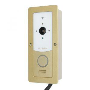 Вызывная панель видеодомофона SLINEX ML-20IP, наруж, 145 град,960 ТВЛ,ИК,Wi-Fi,бело-золотая 4552652