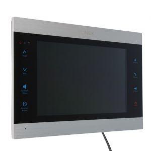 """Видеодомофон SLINEX SL-10IPT,10"""" цв 16:9,1024х600,Wi-Fi/Eth,microSD,детект движ,серебр-черн  4552636"""