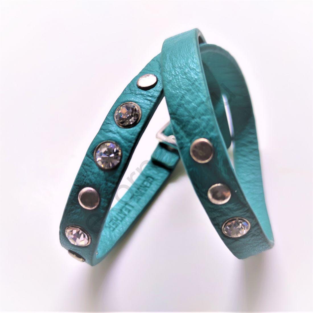 Браслет PILGRIM 291322032. Коллекция Silver turquoise