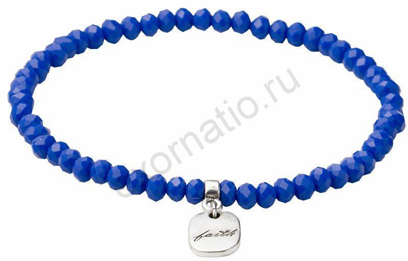 Браслет PILGRIM 301416202. Коллекция Silver Blue