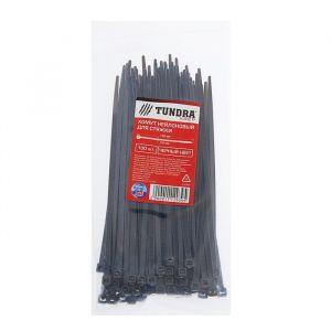 Хомут нейлоновый TUNDRA для стяжки, 3.6 х 150 мм, черный, в упаковке 100 шт. 1112939