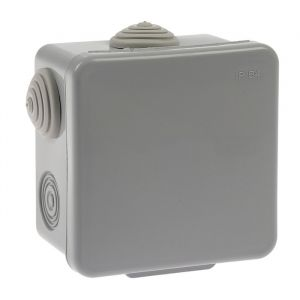 Коробка распределительная TUNDRA, 80х80х50 мм, IP54, для открытой установки   4283305