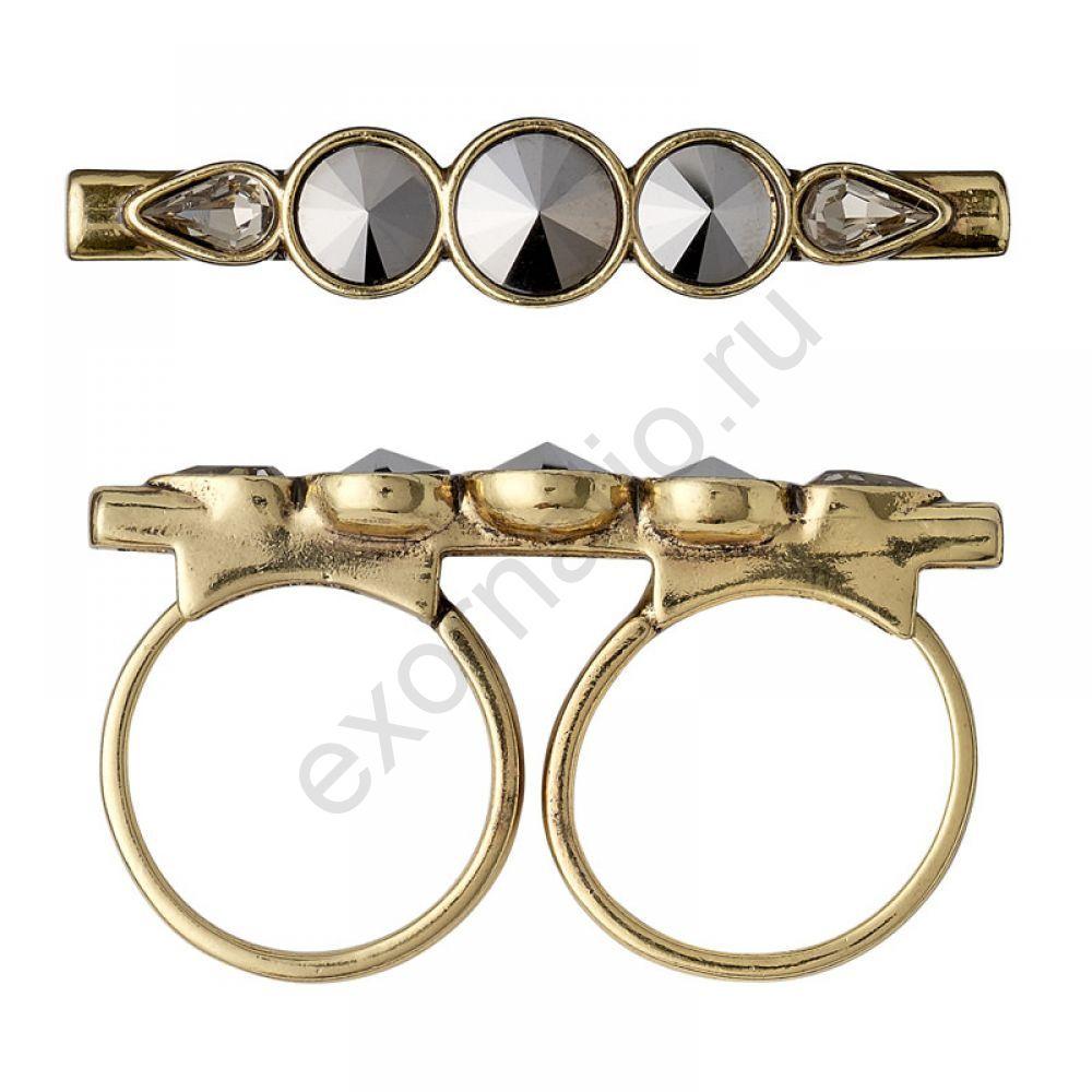 Кольцо PILGRIM 1113332104. Коллекция Gold Grey