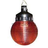 """Сигнальный специальный светильник """"Кольца"""" 150 НСП 03-60-001 IP53 красный /корпус карболит ГУ"""