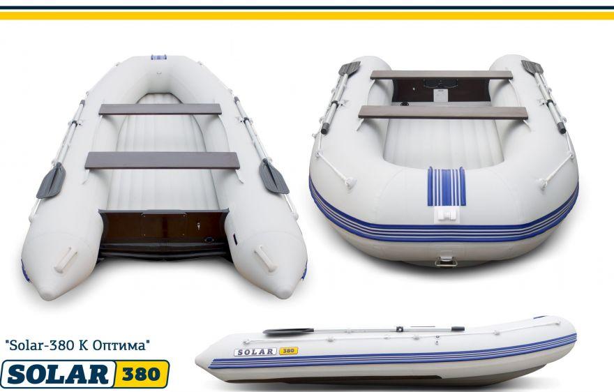 Лодка Солар Оптима-380