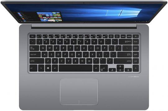 Ноутбук ASUS X510QR-EJ093: AMD A10 9620P x4 (2.5-3.4 GHz), 4Gb, SSD 256Gb, AMD R