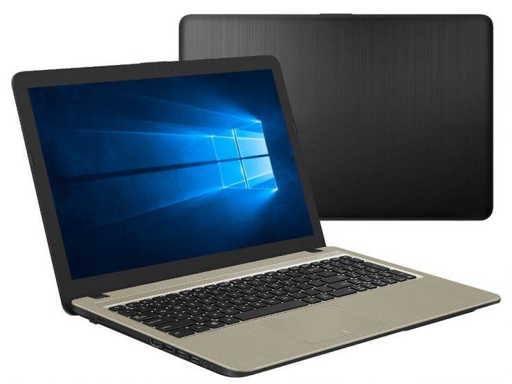Ноутбук ASUS X540MB-DM128: Intel Pentium N5000 x4 (1.1 - 2.7 GHz), 4Gb, SSD 256G
