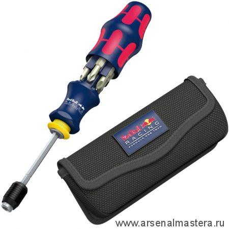 Набор Отвертка Kraftform Kompakt 20 Red Bull Racing нержавеющая сталь, с сумкой WERA 227702