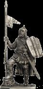 Русский конный воин, 14 век (олово)