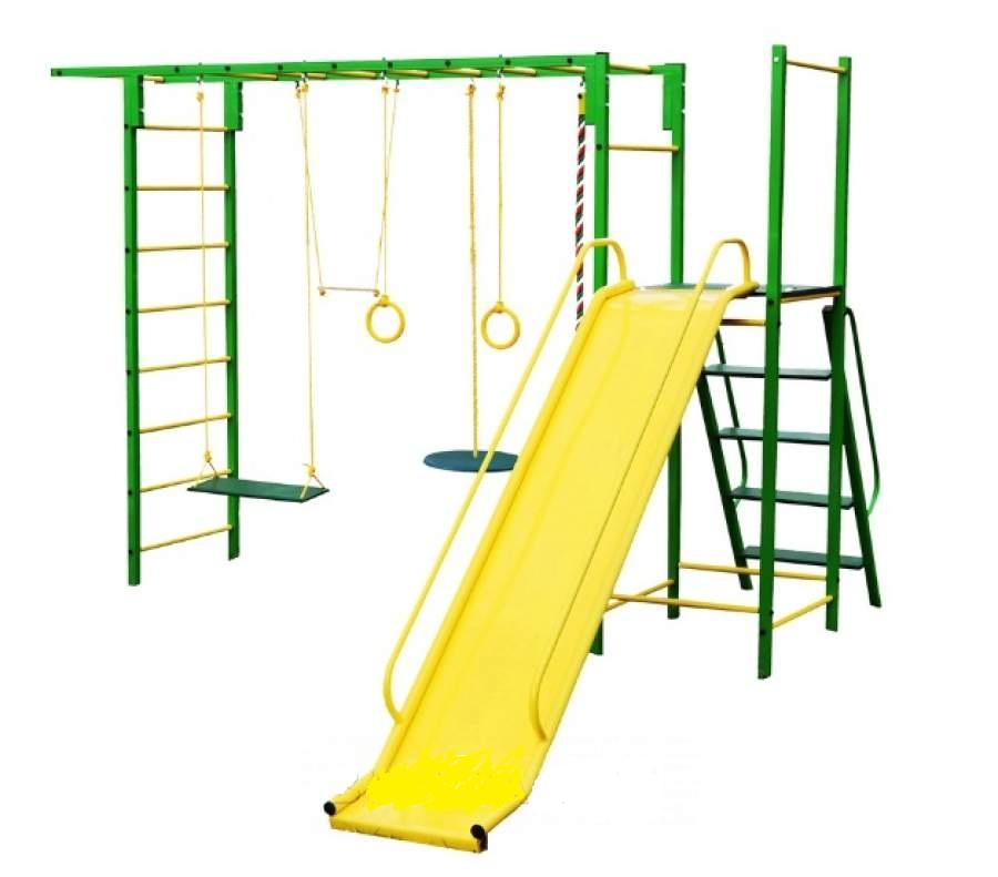 Детский спортивный комплекс Олимпик 6.3, зеленый