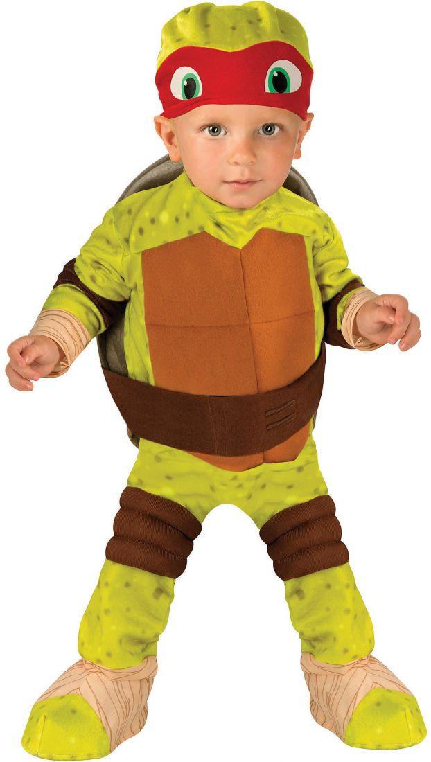 Костюм красно-зеленой Черепашки Каратиста для малыша