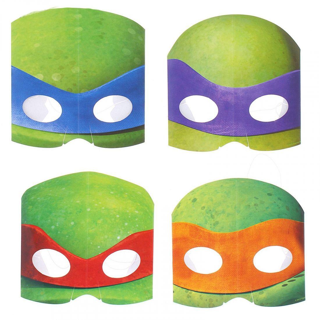 Набор масок Черепашки Каратисты