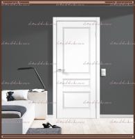 Межкомнатная дверь VILLA 3P Глухое SoftTouch структурный Ясень белый :