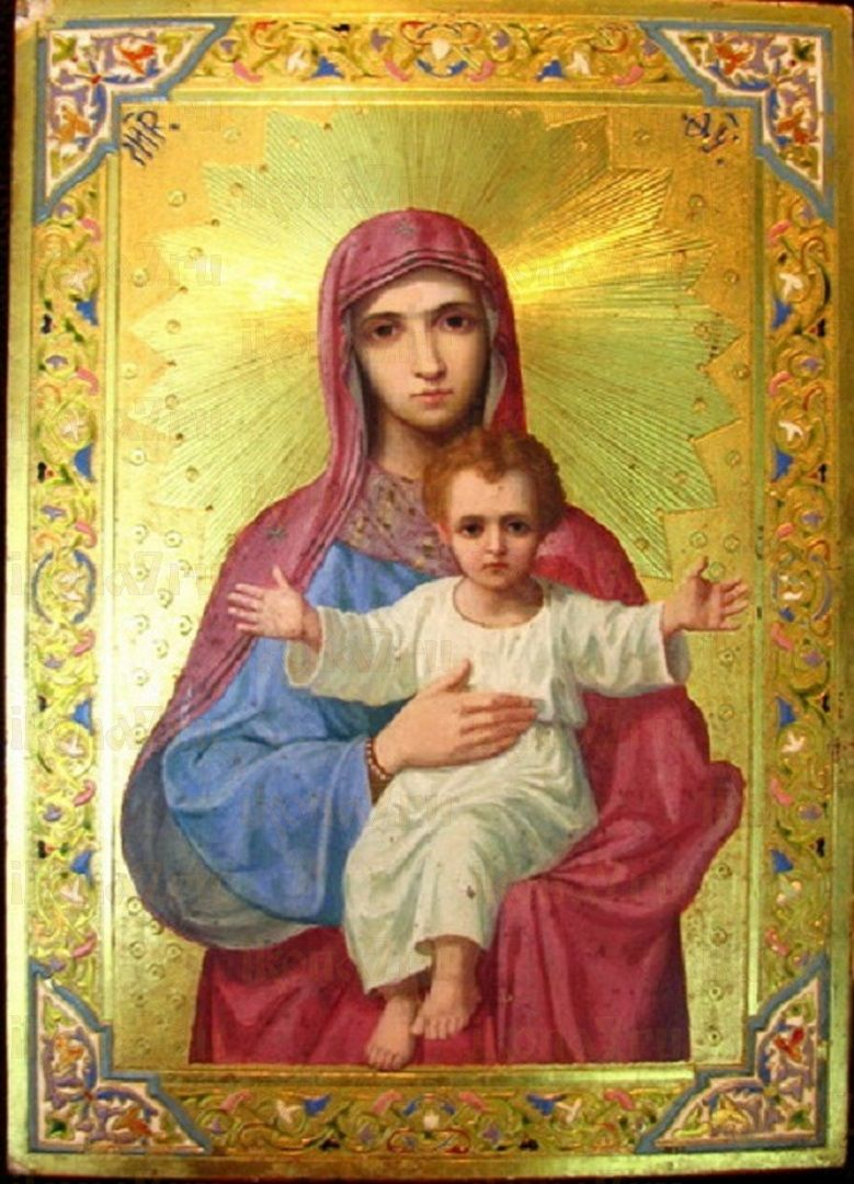 Икона Богородицы Объятия Отча