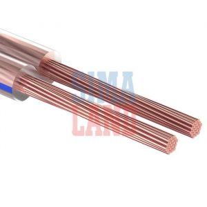 Кабель акустический PROCONNECT BLUELINE, 100 м, 2х1 мм2, прозрачный 3763052