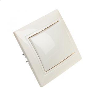 """Выключатель Smartbuy """"Венера"""", 10 А, 1 клавиша, скрытый, белый 3032334"""