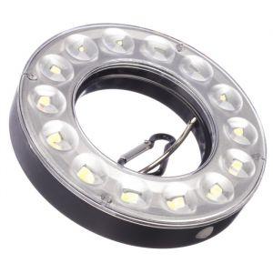 Фонарь кемпинговый светодиодный, 14 LED, 90 лм, 7 Вт, 3 режима 11х2 см, 4 АА   4404249