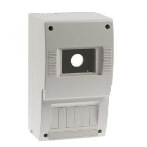 Щит квартирный TDM ЩК 26-003, 2-6 модулей, IP20, DIN-рейка, без дверки 4214425