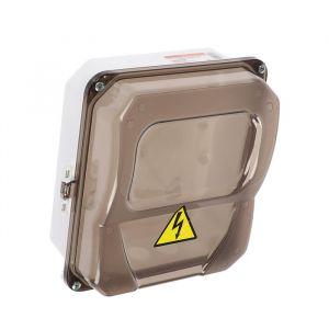 Щит учета TDM ЩУ-1Н-1ф, IP55, 226х197х90 мм, для однофазного счетчика, пластик 1890901