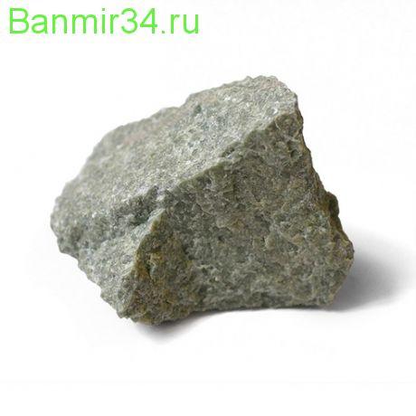 Камень Жадеит колотый средний 20кг ведро