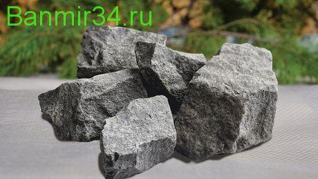 Камень д/сауны Диабаз колотый Карелия  20кг