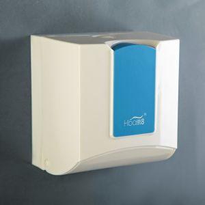 Диспенсер бумажных полотенец в листах 17х12х15,5, пластиковый, цвет белый