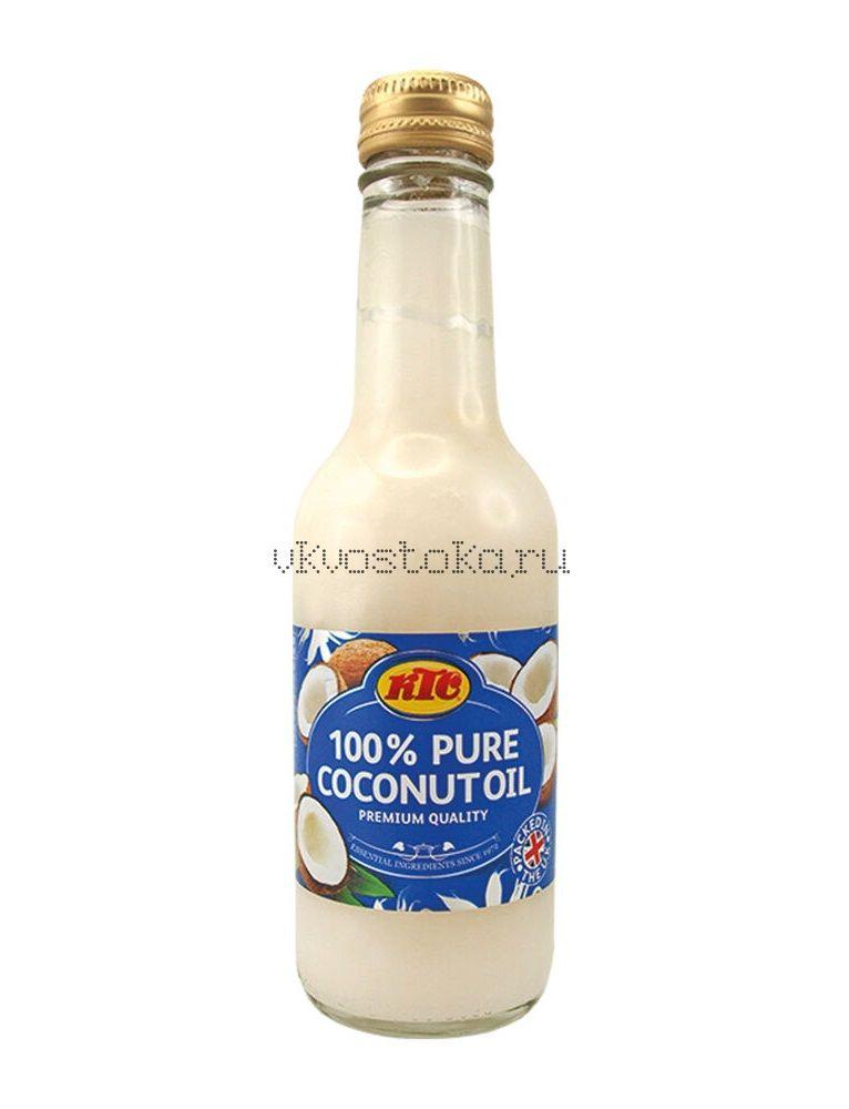 Масло кокосовое 250мл (стекло)