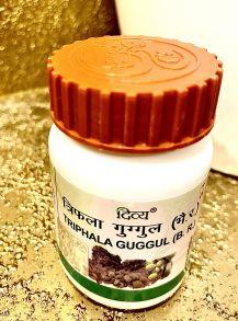 Трифала Гуггул, 80 таб.,Дивья (Triphala Guggul Divya Pharmacy)