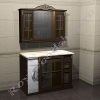 """Мебель для ванной """"Глазго Эндрю-120 античный орех"""""""